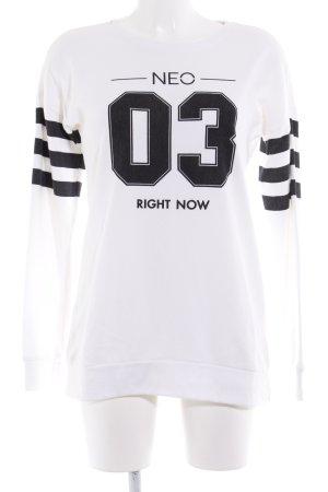 Adidas NEO Sweatshirt weiß sportlicher Stil