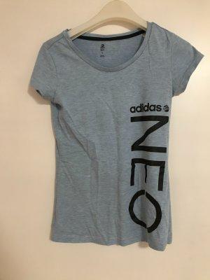 Adidas neo t-Shirt blau