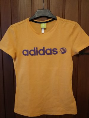 Adidas Neo T-Shirt orange-lila