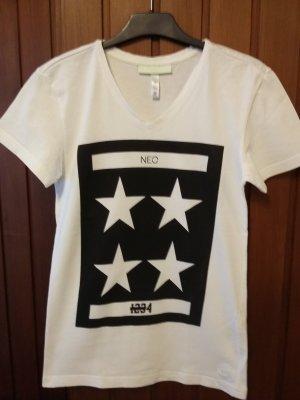 Adidas Neo T-Shirt weiß-schwarz