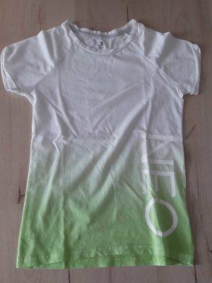 Adidas NEO Camiseta blanco-verde pradera