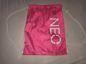 Adidas Neo Turnbeutel Sporttasche Pink Weiß Neon