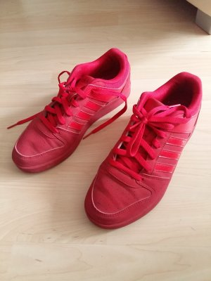 Adidas Neo Turnschuhe rot Gr. 39,5