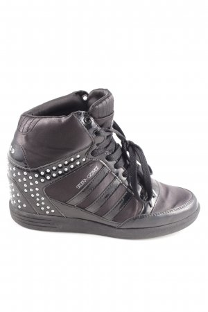 Adidas NEO Wedge Sneaker black extravagant style