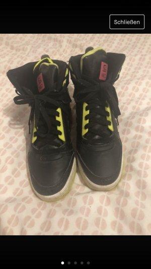Adidas NEO Basket compensée multicolore