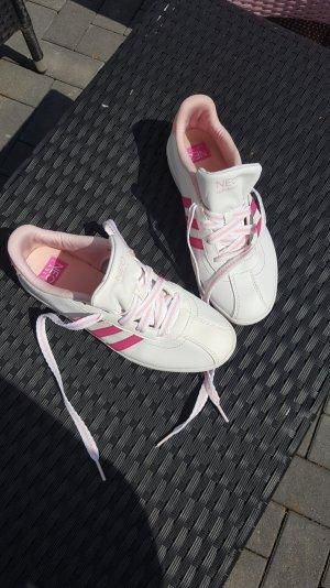 Adidas Neo weiß/pink