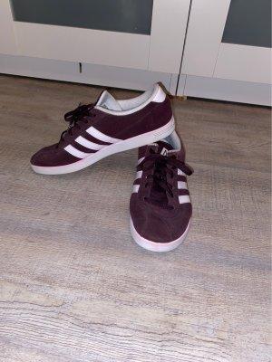 Adidas NEO Lace-Up Sneaker dark violet suede