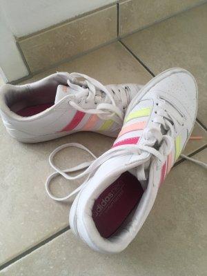 Adidas NEO Basket à lacet blanc