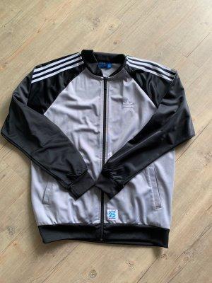 Adidas Giacca-camicia nero-grigio