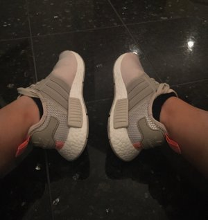 Adidas Nmd in clear Brown / Sun light im gr 37 US 6