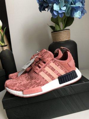 Adidas Basket saumon-rouge framboise