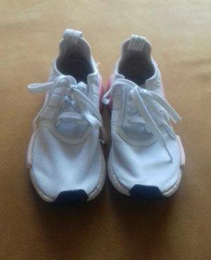 Adidas Originals Chaussures à lacets blanc-rose