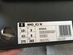 Adidas Originals Sneakers wit-lichtroze Katoen