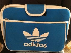 Adidas Sacoche d'ordinateur bleu acier