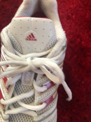 Adidas Lace-Up Sneaker white-red