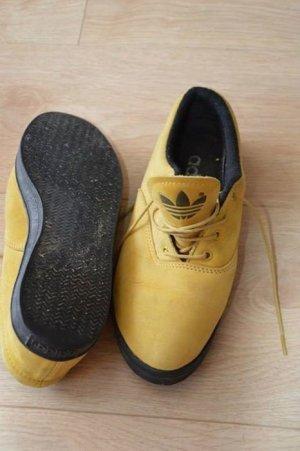 adidas ocker sneaker schuh schnürschuh turnschuh herbst