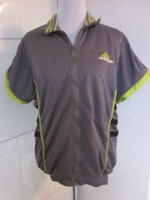 Adidas Oldschool Weste Jacke Grau Gr L