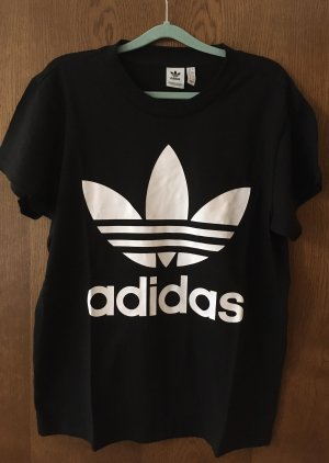 Adidas Originals T-shirt nero-bianco