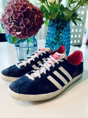 Adidas Original Gazelle dunkelblau Wildleder