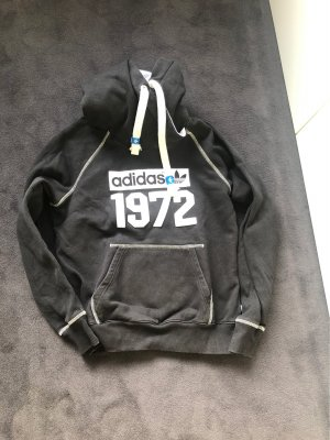 Adidas Originals Hooded Sweater black-white