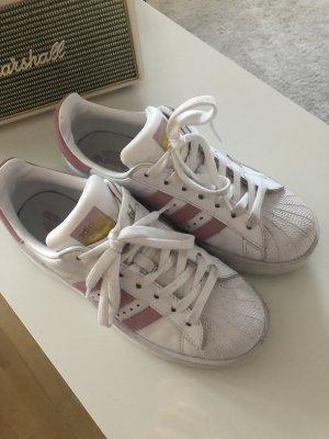 Adidas Originals Sneaker stringata bianco-rosa antico