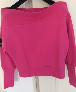 Adidas Originals Sweat Shirt neon pink-pink cotton