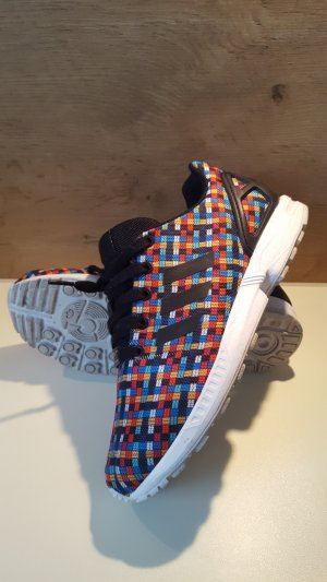 Adidas Original, Torsion Zx Flux, Multicolor, Rainbow Woven, US 7
