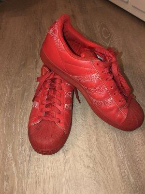 Adidas Originals Sneaker stringata rosso