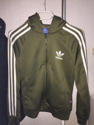 Adidas Originals Jack met capuchon khaki