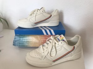 Adidas Originals Lace-Up Sneaker natural white-white