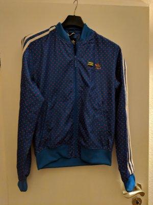Adidas Originals Blouson blau mit Punkten Pharrell Williams
