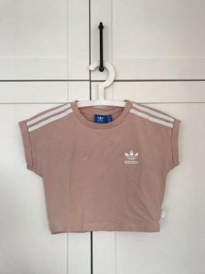 Adidas Originals T-shirt court vieux rose-rosé