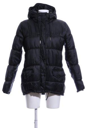 Adidas Originals Daunenjacke schwarz Steppmuster Casual-Look