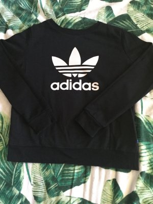 Adidas Originals Sweatshirt wit-zwart