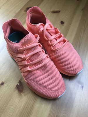 Adidas Originals Lace-Up Sneaker salmon-apricot