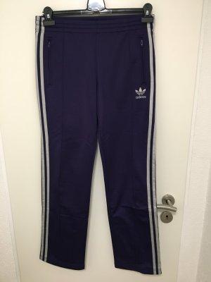 Adidas Originals Sportbroek donkerpaars-zilver