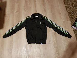 Adidas Originals Firebird trainingsjacke sweatjacke schwarz grün blau Gelb 34 XS
