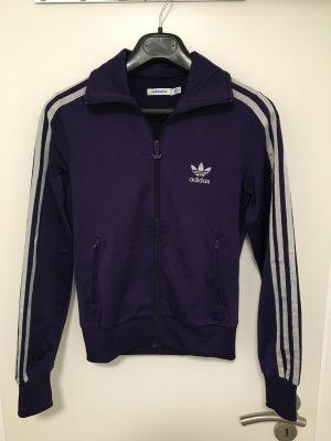 Adidas Originals Giacca sport viola scuro-argento
