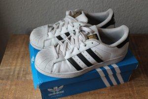 Adidas Originals Instapsneakers wit-zwart Leer