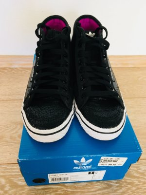 Adidas Originals High Top Sneaker 40 schwarz
