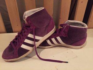 adidas Originals Hightop Sneaker - purple velvet Gr 40