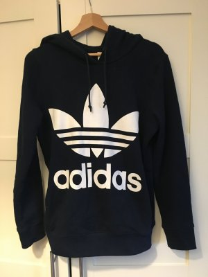 Adidas Originals Jersey con capucha azul oscuro