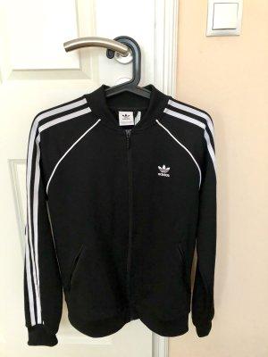 Adidas Originals Veste de sport noir-blanc