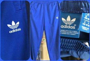 Adidas Originals Pantalone da ginnastica blu-nero Poliestere