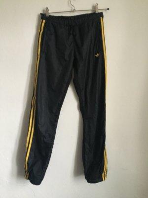 Adidas Originals Hose Jogginghose Fitness sport schwarz coated 34 36