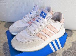Adidas Originals Basket à lacet blanc-rose clair