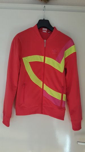 Adidas Originals Giacca sport giallo neon-rosso neon