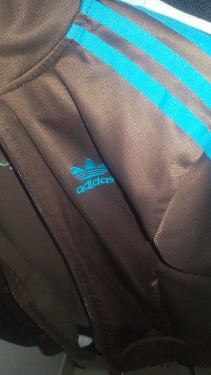 Adidas Originals Giacca sport marrone-blu