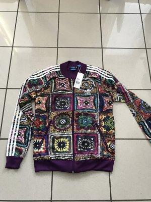 Adidas Originals Jacke,Firebird,Crochita,neu, Gr 36,Blumen,limitiert