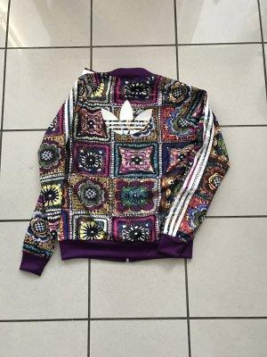 Adidas Originals Jacke,Firebird,Crochite,Gr 40,neu,lila,Blumenprint,limitiert